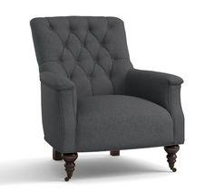 Carleton Upholstered Armchair | Pottery Barn
