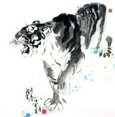 Tiger,66cm x 66cm(26〃 x 26〃),4695013-z