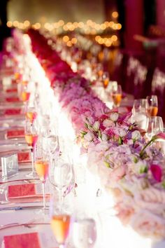 Tablescapes with flowers