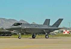 The first F-35A strike fighter