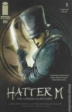 Hatter M The Looking Glass Wars (2005) 1 Image Comics book covers Modern Age Mad Hatter Alice in Wonderland Queen of