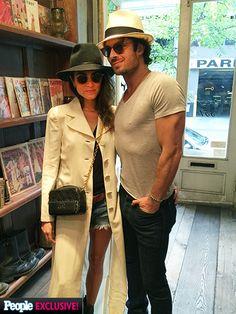 Ian Somerhalder and Nikki Reed Shop in Soho