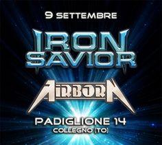 Image of Iron Savior + Airborn + Silverblack - Live 9 Settembre, prevendita con…