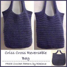 Criss-Cross Reversible Bag