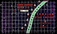 Romulan Empire and Neutral Zone | The original filmed backli… | Flickr
