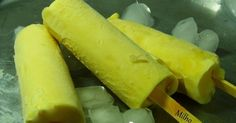 Picolé de milho verde delicioso e nutritivo.