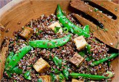 Recipes for Health - Royal Quinoa Salad With Tofu and Sesame Ginger Vinaigrette - NYTimes.com