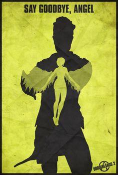 The Vault Hunter - Borderlands 2 Poster by Edwin Julian Moran II