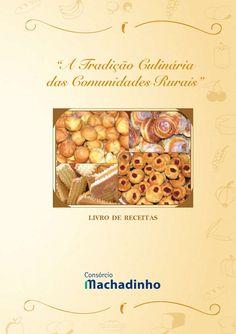 Livro receitas tradição comunidades rurais