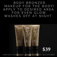 Get the perfect glow with youniques body bronzer!!