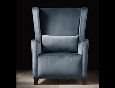 Lusso Rebecca Luxury Italian Designer Lounge Upholstered in Blue Green Velvet