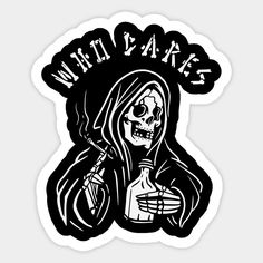 who cares ! Stickers, Products, Gadget, Decals