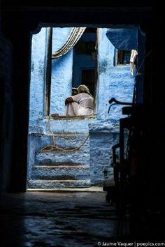 Calles de Jodhpur, Rajasthan, India Rajasthan India, Jodhpur, Laos, Vietnam, Thailand, Travel Photography, Painting, Countries, Cities