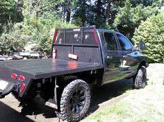 Dodge Diesel flatbed