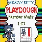 Groovy Kitty Number Playdough Mats! Your students will love making numbers 1-10 with their favorite groovy kitty!  Each mat has a ten-frame depicting the numeral with the correspondin...