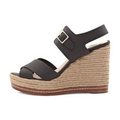 Wedge sandal Spring Summer 2016, Bohemian Style, Wedge Sandals, Dark Brown, Espadrilles, Wedges, Shoes, Fashion, Fashion Styles
