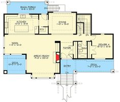 ''Wow'' Curb Appeal - 23585JD   Craftsman, Northwest, Luxury, Photo Gallery, Premium Collection, 2nd Floor Master Suite, Butler Walk-in Pantry, CAD Available, Den-Office-Library-Study, Media-Game-Home Theater, PDF, Sloping Lot   Architectural Designs