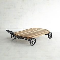 Wooden Wagon Serving Board