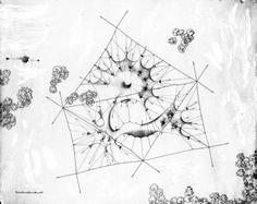Oskar Hansen, Zofia Hansen, Moje Miejsce, Moja Muzyka, projekt Pawilonu Muzyki dla festiwalu 'Warszawska Jesień' w Warszawie, 1958, dzięki uprzejmości Igora Hansena