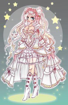Princess Serenity by NoFlutter.deviantart.com on @DeviantArt