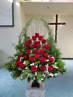 Altar Flowers Unique Flowers Silk Flowers Church Wedding Flowers Silk Floral Arrangements & 276 Best Flowers For Church⛪ images in 2019 | Floral arrangements ...