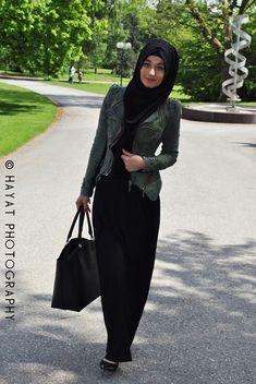 Turkish hijab style. #Muslim #women #fashion #style #hijab