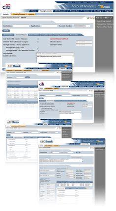 Performance financial dashboard design