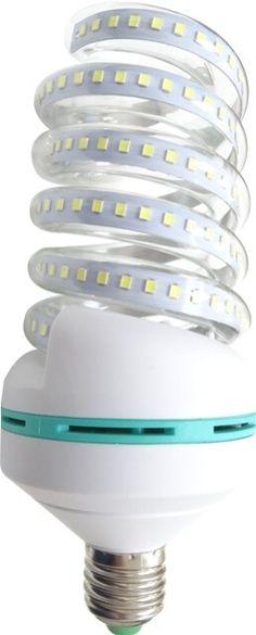 Disponibil in doua variante de temperaturi de culoare, acest BEC LED E27 30W SPIRALA CLAR de putere mare poate face fata atat in iluminatul locuintelor cat si pentru cel industrial special conceput pentru spatiile unde este nevoie de multa lumina.