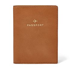 Fossil passport cover- Need this for my trip to London/Paris in April 2016