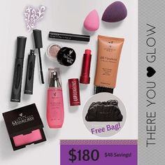 The perfect kit... There You Glow Collection - Younique www.youniqueproducts.com/kristengiove14