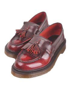British Style Tasseled Flat Shoes