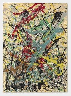 "Lot 39 Jackson Pollock ""Number 16,"" 1949   Estimate: $25,000,000-35,000,000 Price realized: $32,645,000"