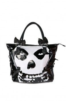 Misfits Handbag ❤ Black $60