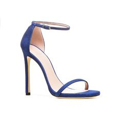 NUDIST   Stuart Weitzman #shoes #heels #sandals #blue #style #sexy #chic #alittleobsessedwithshoes http://sweitzman.com/NUDIST_ULTRAMAR