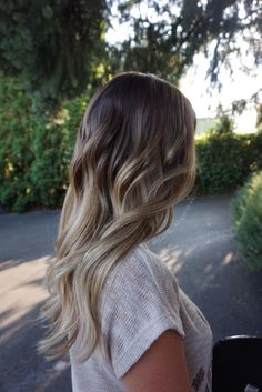 Caramel Beige blonde pearly blonde, brunette balayage ombré, Hair By Abigail Walston, @abigail_walston