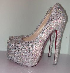 Sparkly Pumps - Fashion Diva Design