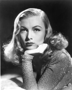 """classic-hollywood-glam: """"Veronica Lake """""""