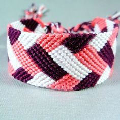 friendship bracelets patterns plaid - Αναζήτηση Google