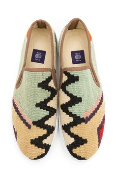 Res Ipsa Unique Handmade Kilim Shoes For Men And Women Derby, Brogues, Loafers, Toms, Footwear, Sneakers, Womens Fashion, How To Wear, Victoria