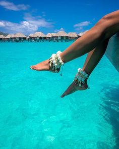 That time when no shoes were needed  @ashcloud9 @fsborabora  Ankle wear…
