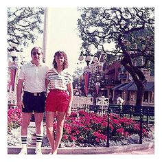 Happy Parents Day to the very best in the world....and a special thanks to my Dad for matching Mom's shorts length that day.Love you guys! #parentsday #minerock #shortshorts #gottalovetheeighties