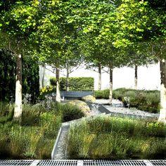 Climate Calm Garden by Nicholas Dexter / on TTL Design