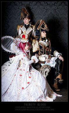 Trinity Blood: Albion by WeissEpilog.deviantart.com on @deviantART