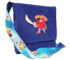 Kindergartentaschen - Kindergartentasche Pirat - ein Designerstück von ZauberDrum bei DaWanda