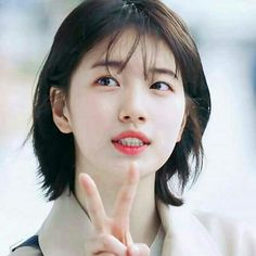 Suzy Bae | While You Were Sleeping Drama 2017 Bae Suzy, Korean Girl, Asian Girl, Sleep Hairstyles, Long Hair Cuts, Korean Actresses, Korean Beauty, K Idols, Pink Hair