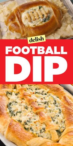 This Super Bread Bowl Dip Will Totally Score You All The Points - Football Shaped Dip – Football Shaped Foods for Super Bowl Football Shaped Dip – Football Shape - Football Party Foods, Football Food, Football Parties, Superbowl Party Food Ideas, Football Apps, Football Treats, Football Tailgate, Football Birthday, Aperitivos Super Bowl