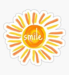 Pegatina smile.