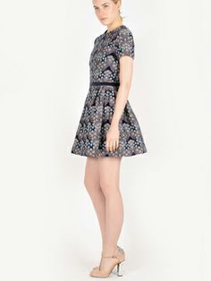 Harare dress // hand embroidered textiles from Guatemala // made in NYC