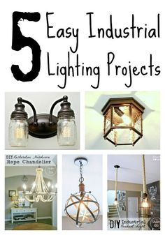 5 Easy Industrial Lighting Projects | eBay