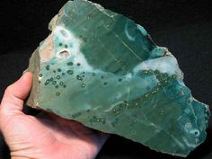 Green Jasper Green Gemstones, Crystals And Gemstones, Stones And Crystals, Healing Crystals, Gemstone List, Jasper Stone, Chakra Stones, Rocks And Gems